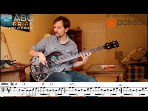 Van Morrison - Domino - Bass Transcription