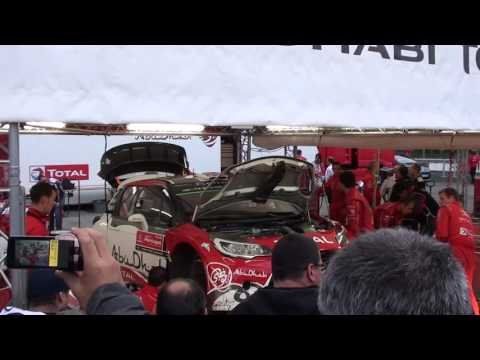WRC Rally Portugal 2016 - Paddock - K. MEEKE -ABU DHABI TOTAL TEAM CITROËN DS3 WRC