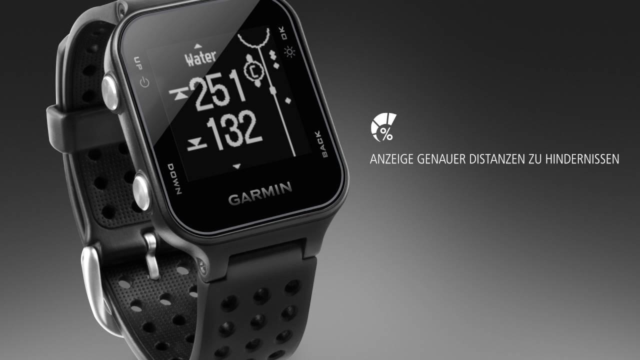 Iwatch Golf Entfernungsmesser : Garmin approach s u gps golfuhr mit fitness tracker funktionen
