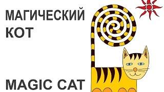 Простые рисунки котов и птичек