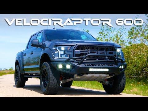 2019 Hennessey VelociRaptor 600 Road Testing