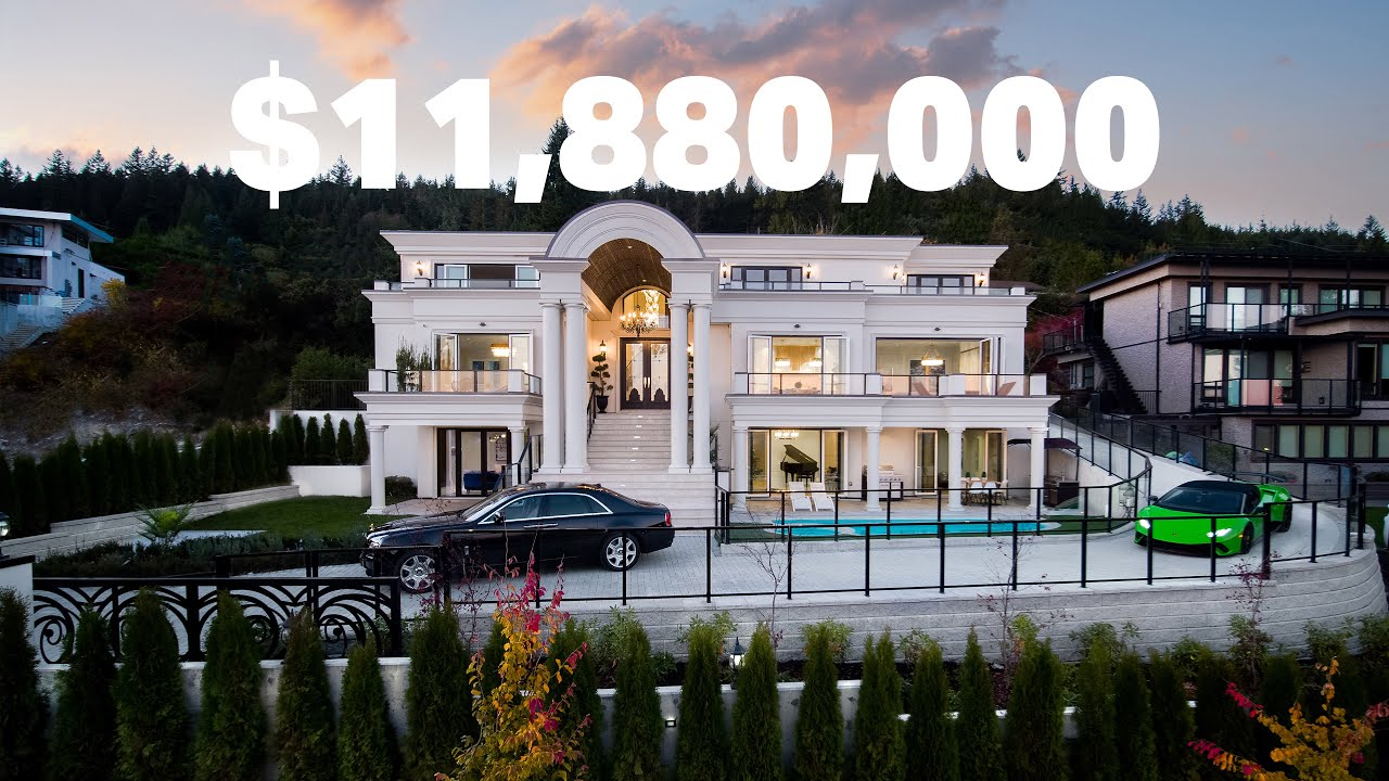 Enjoy this European Inspired Mansion in West Vancouver | $11.8 Million