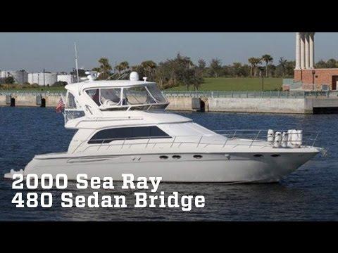 2000 Sea Ray 480 Sedan Bridge Boat For Sale
