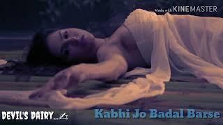kabhi-jo-badal-barse-instrumental-cover-s---dairy