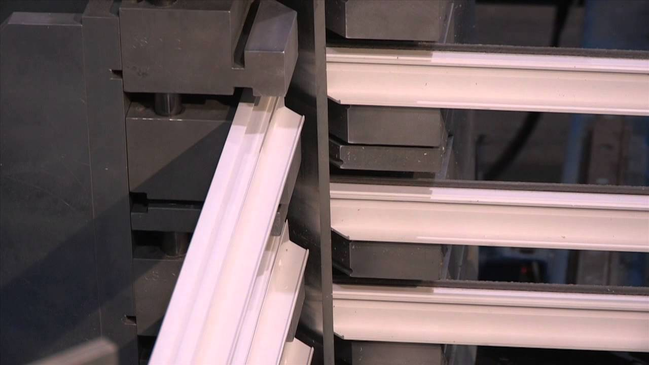 Krestmark industries vinyl window manufacturer youtube for Vinyl window manufacturers