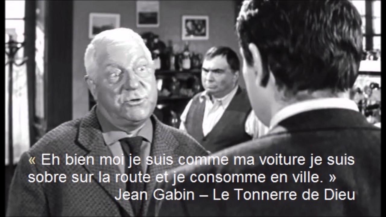 Jean Gabin Citation Youtube