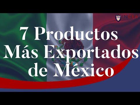 7 Productos Más Exportados De México