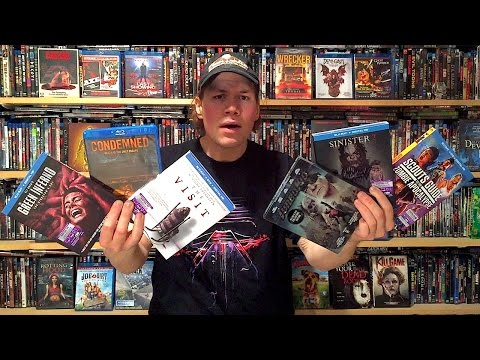 My Blu-ray Collection Update 12/26/15 : Blu ray and Dvd Movie Reviews