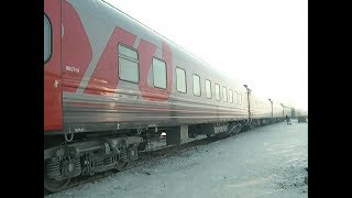 Новые плацкартные вагоны появились в Красноярске на поездах дальнего следования