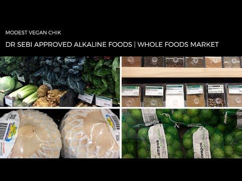 Dr Sebi Approved Foods At WHOLE FOODS MARKET | Alkaline Vegan Grocery Shopping