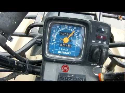 Max speed king quads  - Suzuki ATV Forum