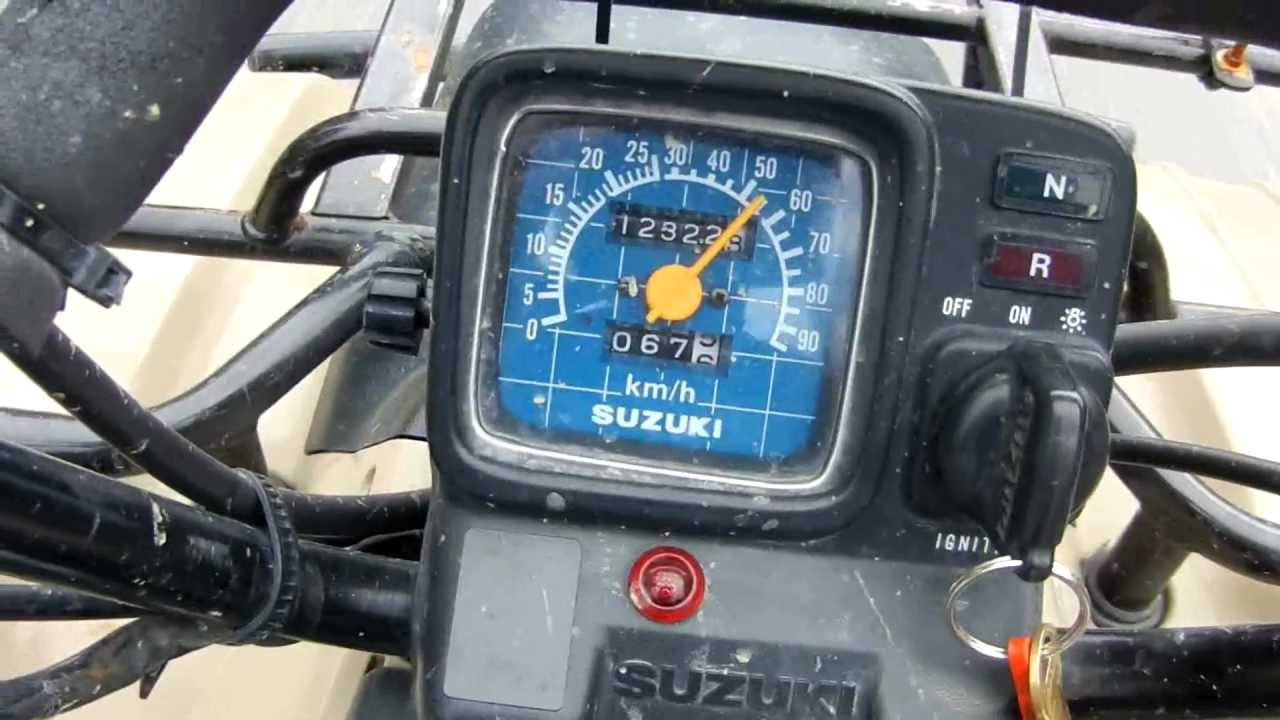 Suzuki  Quad Top Speed