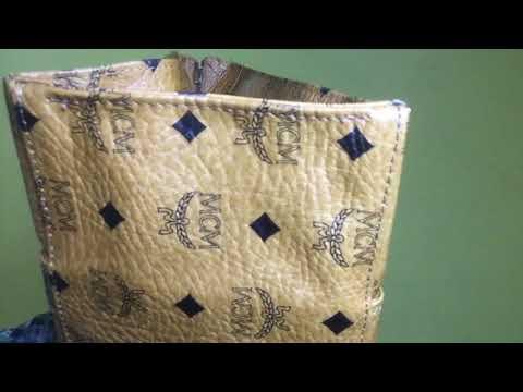 TBC: MCM Monogram Calf Leather Visetos Tote Bag