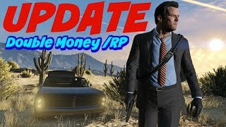 Gta 5 Weekly Update ***DOUBLE MONEY & RP***