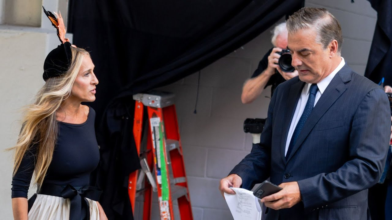 Download Sex and the City Revival: Sarah Jessica Parker and Chris Noth SPOTTED on Set