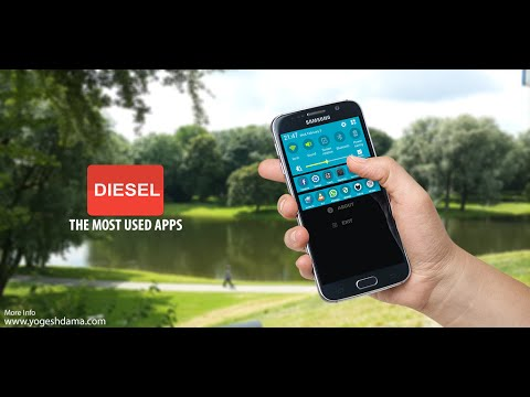 DIESEL The most used apps Demo