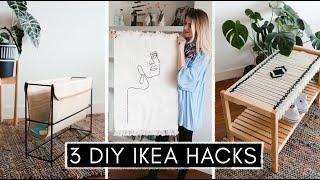 3 DIY IKEA Hacks im Hygge & Boho-Look - günstig, schnell & einfach