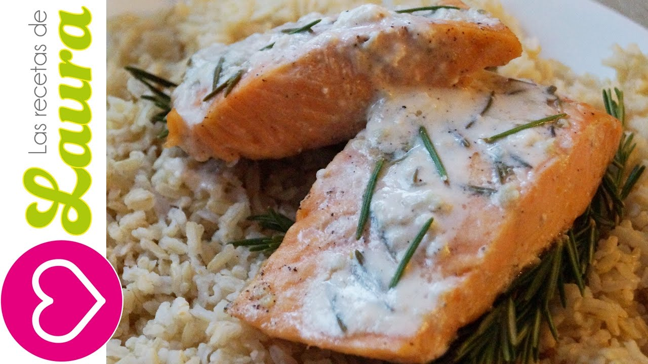 Como hacer salmon al romero delicioso y facil comida for Como hacer comida facil
