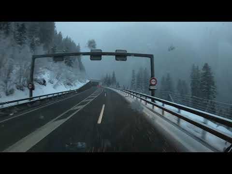 Freddy's Fernfahrerwoche #7 - Schnee am Bernadino