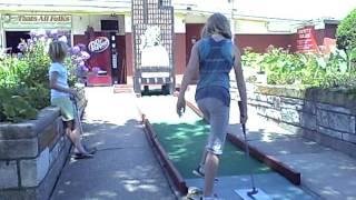 Bunny Hutch Mini Golf 8/9/2011 14