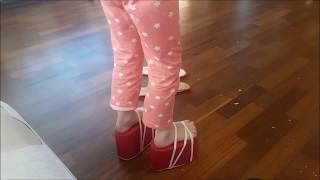 Туфли на платформе для ребёнка