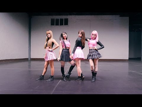 LIVE/ BLACKPINK & 2NE1 - 붐바야 BOOMBAYA X FIRE by Red Desire