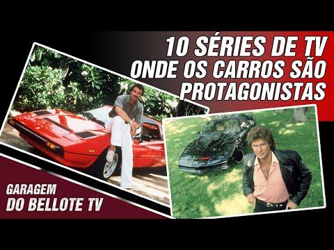 10 séries de TV onde os carros são protagonistas | Garagem Listas #03
