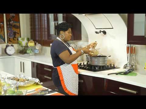 "CHEF UZO Prepares ""CHICKEN YASA WITH WHITE RICE"" in Chefrican on EbonyLifeTV"