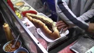 Hot dogs gigantes en Los Mochis