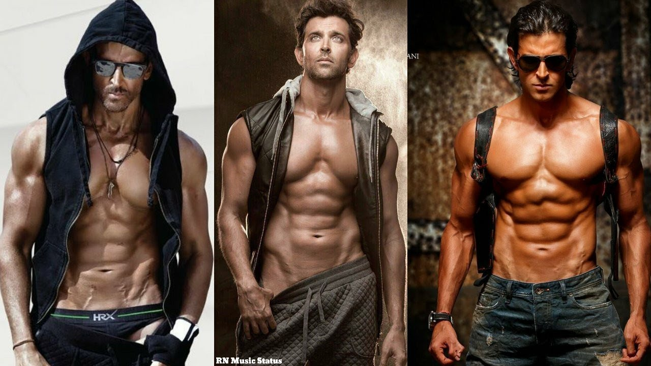 Download #hrithik_Roshan🦾 perfectly Chiselled And Sculpted body   RN Music Status follow me