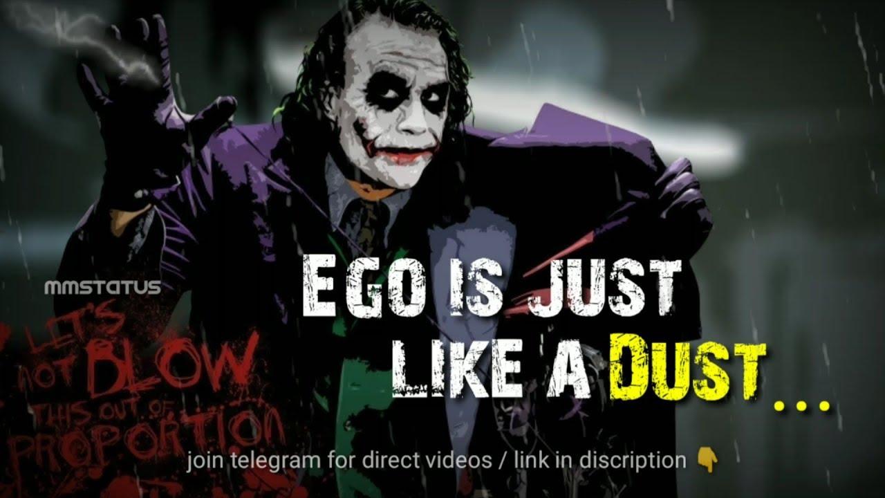 I Am Dangerous Joker Whatsapp Status Joker 60 Second