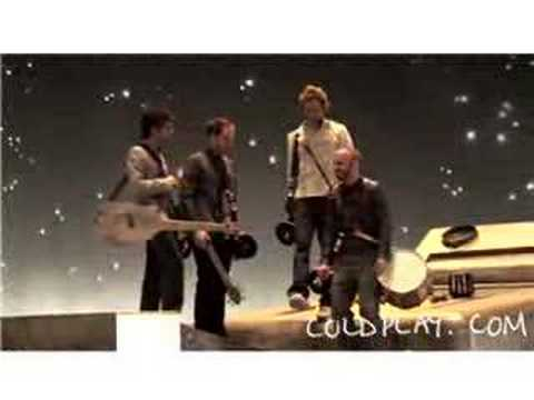 Coldplay - Making Talk Video (5th November 2005)