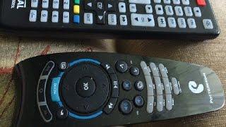 ваш телевизор не управляется пультом приставки IP TV? Выход: универсальный обучаемый пульт