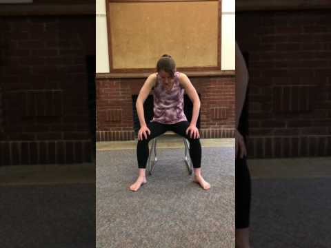 Chair Yoga Poses for Low Back Pain - Gentle, 8 min