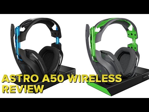 Astro's A50 is the smartest wireless gaming headset you can