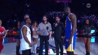 Kevin Hart vs Draymond Green   3 point Shootout   2016 All Star Weekend 4