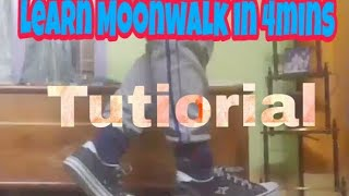 How to Moonwalk | Learn only in 4mins | Stylo Nash |