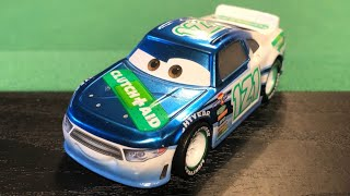 Mattel Disney Cars 3 Metallic Dino Draftsky Clutch Aid #121 (Scavenger Hunt) Diecast Review