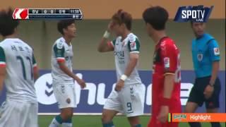 2015 K리그 챌린지 40R 강원FC vs 경남FC 하이라이트