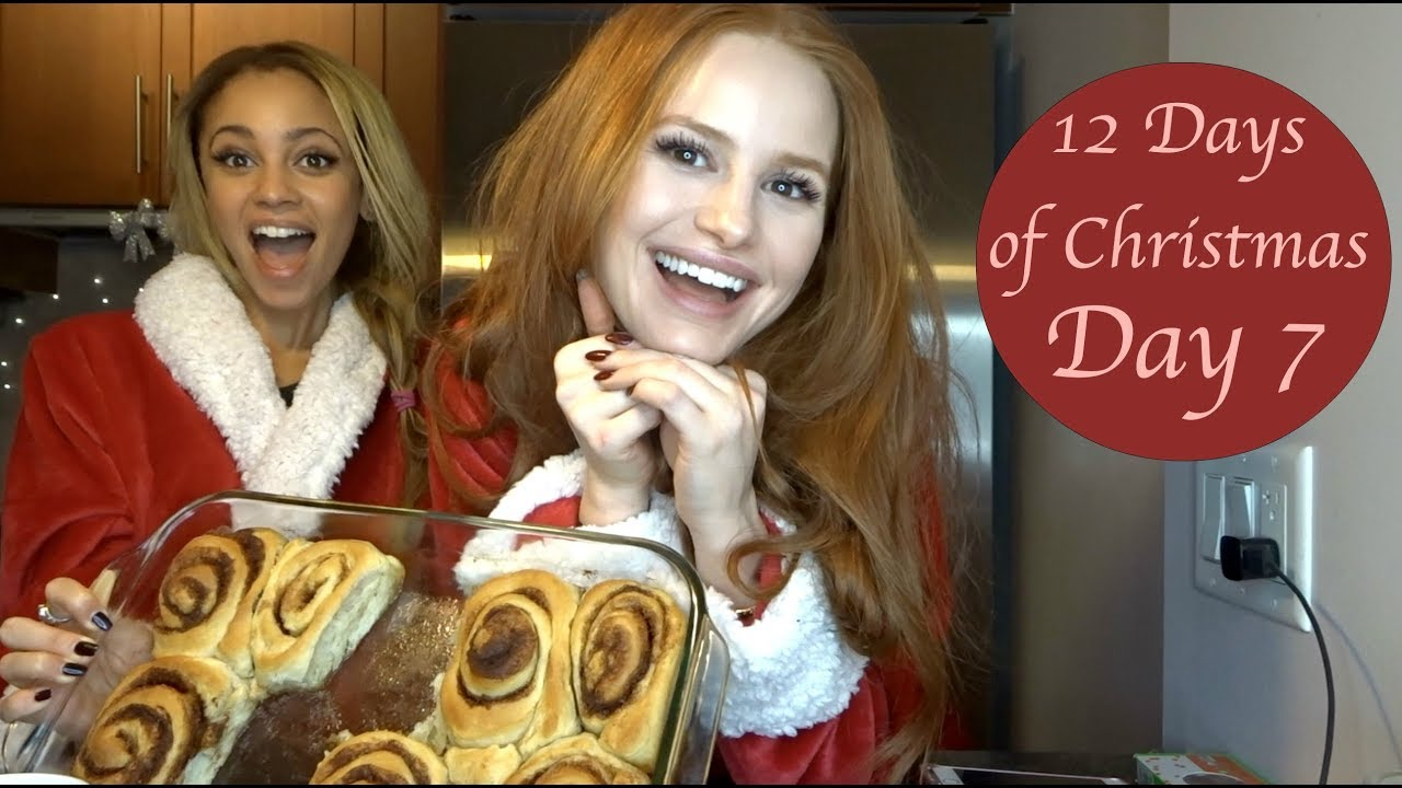 LOOPY HOLIDAY BAKING WITH RIVERDALE COSTAR VANESSA MORGAN| Madelaine Petsch