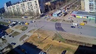 ДТП авария г Волжский пр Ленина ул Академика Королева 11 04 2018 14 18