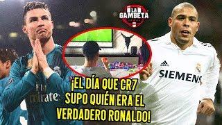 ¡El día que CR7 supo quién era el verdadero Ronaldo!