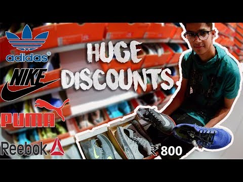 Factory Outlets in Delhi || Original NIKE & ADIDAS Shoes and Clothing In Cheap