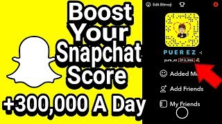 SNAPCHAT score hack! 101% newest version!