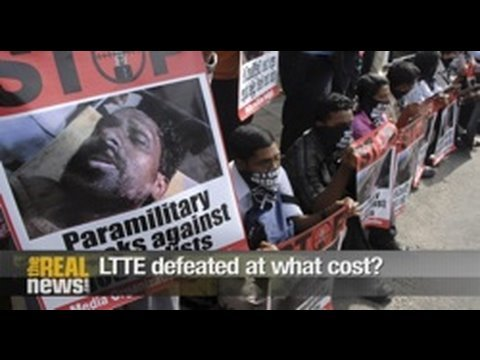 LTTE defeated at what cost? Pt2