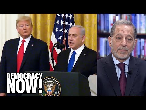 """""""Yet Another Declaration of War on Palestinians"""": Rashid Khalidi on Trump's Middle East """"Peace"""" Plan"""