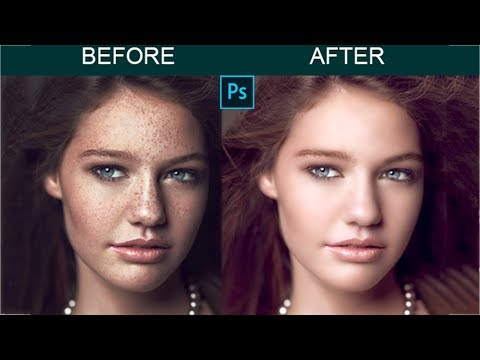High-End Photo Retouching in Photoshop. Photoshop Tutorial. thumbnail