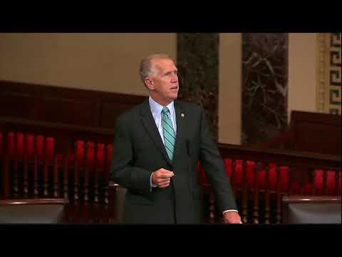 Senator Tillis Speaks on Tax Reform on Senate Floor