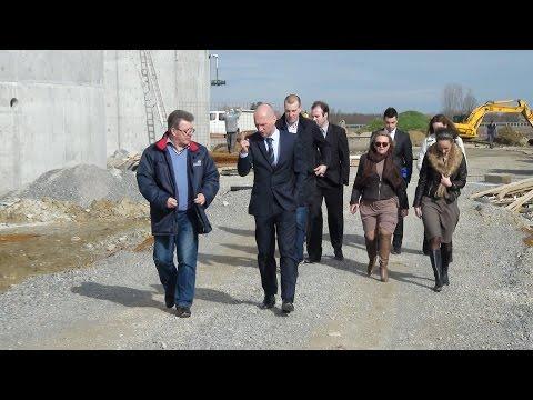 Gradilište Biointegre posjetili predstavnici PBZ-a i Grada Slatine