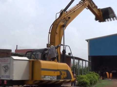 JCB JS 210 ELECTRIC HYDRAULIC EXCAVATOR.